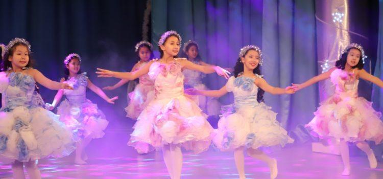 Новогодние представления Дворца школьников