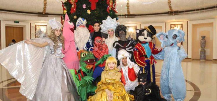 Новогодние представления для детей.