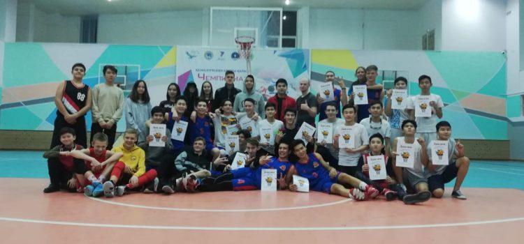 Открытый  турнир по баскетболу Дворца Школьников