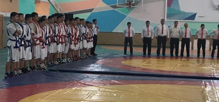 Городской отборочный турнир по «Қазақ күресі»
