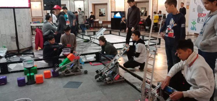 Международное соревнование по робототехнике