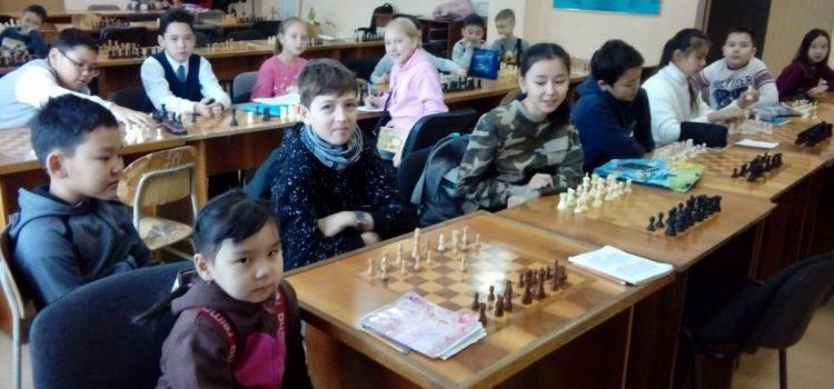Открытое занятие в объединении «Шахматы»